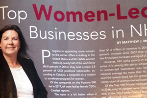 Top Women-Led Biz in NH 2017