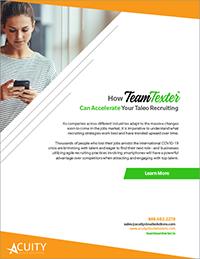 TeamTexter Taleo Recruiting whitepaper