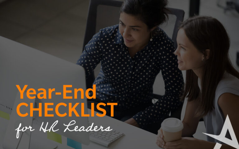 year end checklist for HR leaders